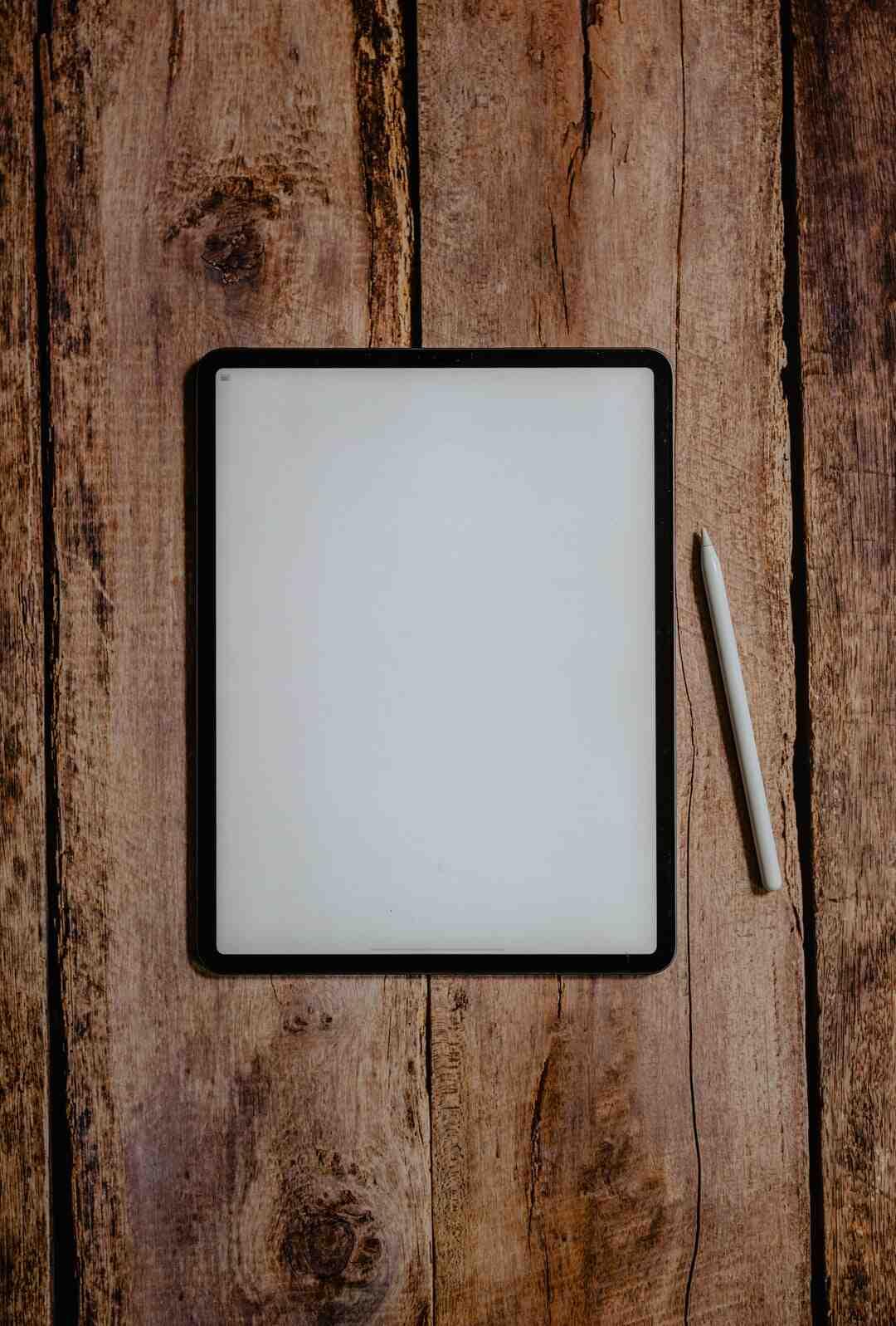 Comment utiliser vieil iPad ?