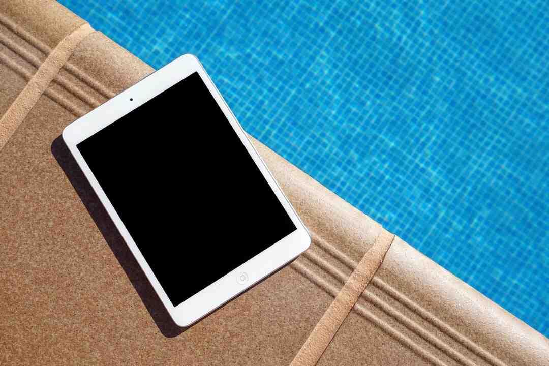 Comment voir l'état de la batterie sur iPad ?