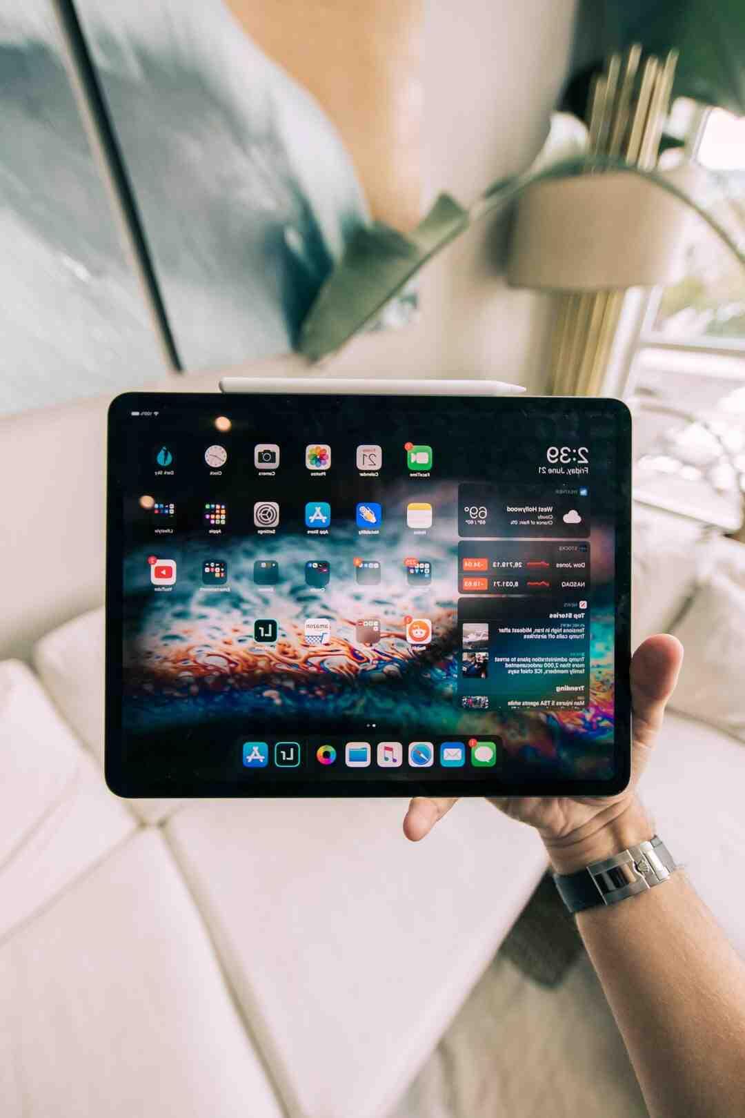 Quelle capacité de stockage choisir iPad ?